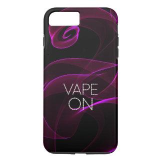 ラベンダーのグランジな煙のVape iPhone 8 Plus/7 Plusケース