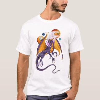 ラベンダーのドラゴンのTシャツ Tシャツ