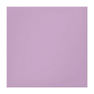 ラベンダーのハーブの紫色の傾向色の背景 キャンバスプリント