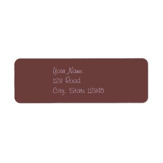 ラベンダーのヴィンテージチョコレート渦巻 ラベル