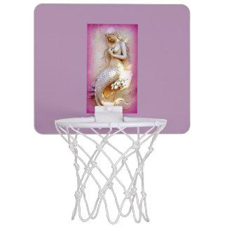 ラベンダーの人魚の小型バスケットボールのゴール ミニバスケットボールゴール