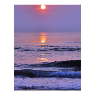 ラベンダーの太陽 レターヘッド