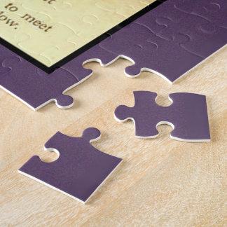 ラベンダーの女の子 ジグソーパズル