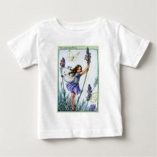 ラベンダーの妖精 ベビーTシャツ