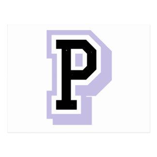 ラベンダーの手紙P ポストカード