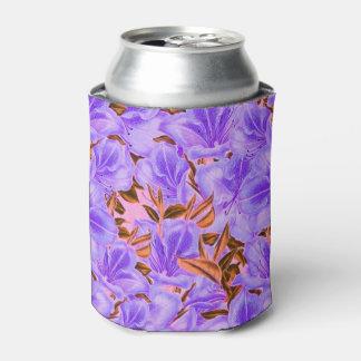 ラベンダーの抽象的な花 缶クーラー