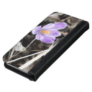 ラベンダーの花の写真のiPhone 6/6sのウォレットケース iPhone 6/6s ウォレットケース