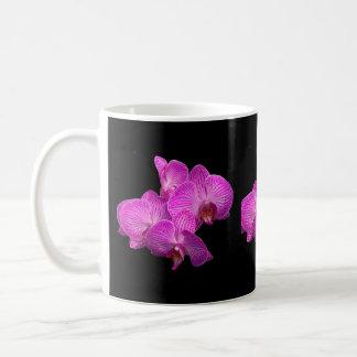 ラベンダーの蘭のコーヒー・マグ コーヒーマグカップ