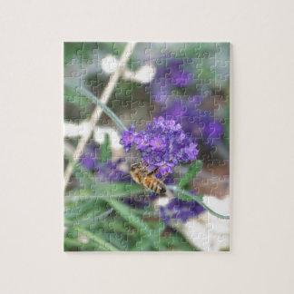 ラベンダーの蜜蜂 ジグソーパズル
