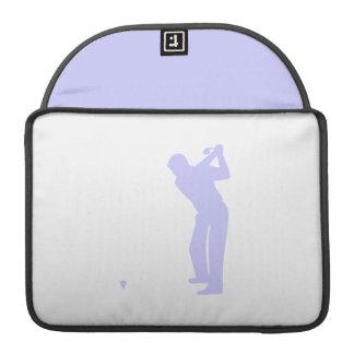 ラベンダーの青のゴルフ MacBook PROスリーブ