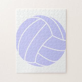 ラベンダーの青のバレーボール ジグソーパズル