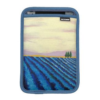 ラベンダー分野(フランスのな景色) - K.Turnbullの芸術 iPad Miniスリーブ