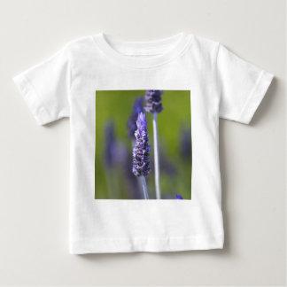 ラベンダー ベビーTシャツ