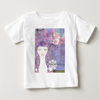 ラベンダーgirl.jpg ベビーTシャツ