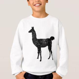ラマのプルオーバーのスエットシャツの子供および幼児のセーター スウェットシャツ