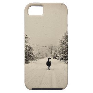 ラマの冬 iPhone SE/5/5s ケース