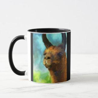 ラマの収集できる芸術のコーヒー・マグ マグカップ