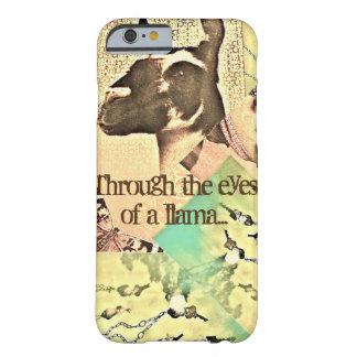 ラマの目を通して見て… BARELY THERE iPhone 6 ケース