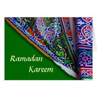 ラマダーンのテントカード カード