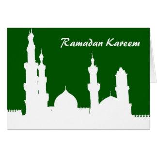 ラマダーンのモスクの計器飛行証明 カード