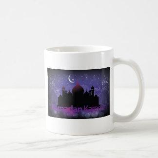 ラマダーンのkareemのデザイン コーヒーマグカップ