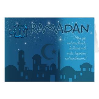 ラマダーンカード青 カード