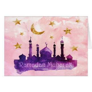 ラマダーンムバラクの挨拶状 カード