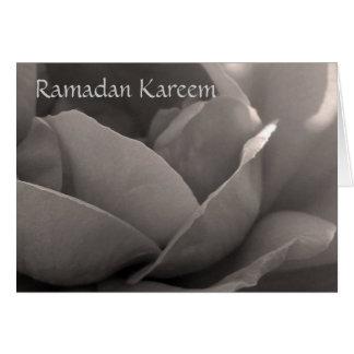 ラマダーンKareem - b&wのばら色カード カード