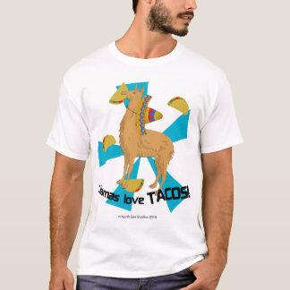 ラマ愛タコス! Tシャツ