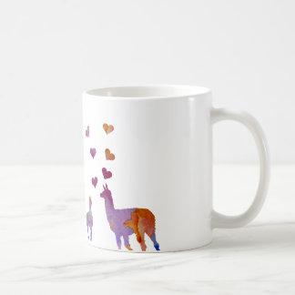 ラマ コーヒーマグカップ