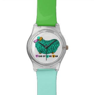 ラムのヒツジまたはヤギ- May28thの腕時計の年 腕時計
