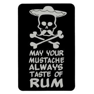 ラム酒の髭カスタムな色の磁石 マグネット