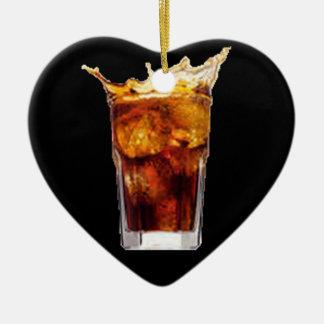 ラム酒及びコーラのオーナメント セラミックオーナメント