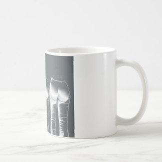 ラリー巻き毛のMoe コーヒーマグカップ