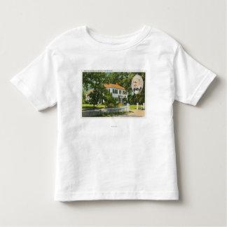 ラルフ・ワルド・エマーソンの家の眺め トドラーTシャツ