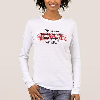 ラルフ・ワルド・エマーソンファンの赤い印のデザインのTシャツ Tシャツ