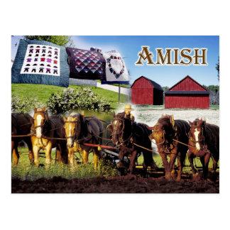 ランカスターのアマン派の生命、ペンシルバニア ポストカード