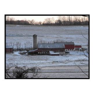 ランカスター郡の~ 12の~の冬 ポストカード