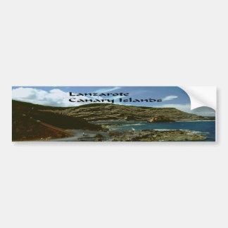 ランサロテ島のカナリア諸島 バンパーステッカー
