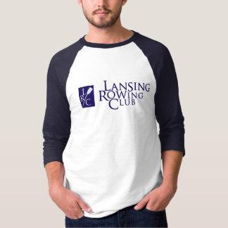 ランシングのロウイングクラブ及びLRCのロゴ Tシャツ