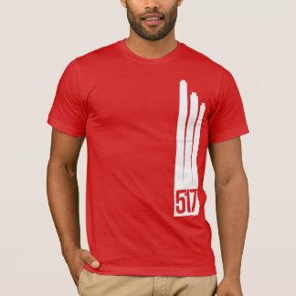 ランシングのワイシャツの煙積み重ね Tシャツ