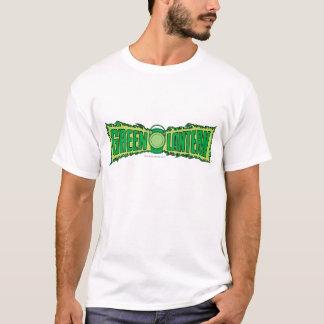 ランタンとの緑のランタンのロゴ Tシャツ