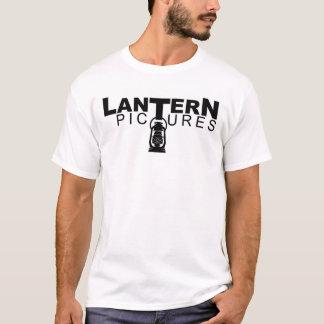 ランタンはTシャツのためのロゴを描きます Tシャツ