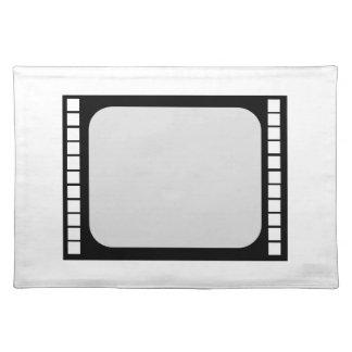 ランチョンマットのフィルム巻き枠TVのデジタル月桂樹 ランチョンマット