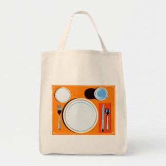 ランチョンマットの設定のバッグ トートバッグ