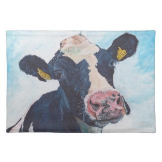"""ランチョンマット20"""" x 14"""" - 0254人のアイルランド人のFriesian牛 ランチョンマット"""