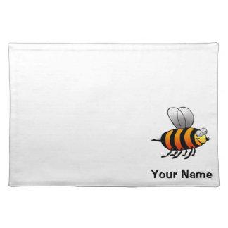 ランチョンマット、かわいい蜂の漫画、一流のテンプレート ランチョンマット