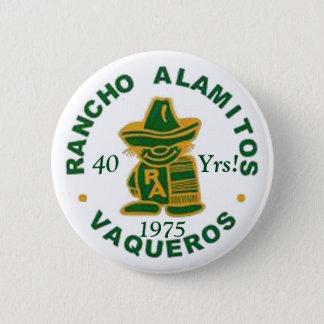 ランチョAlamitosの1975年の懇親会ボタン 5.7cm 丸型バッジ