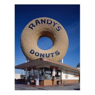ランディのドーナツカリフォルニア建築 ポストカード