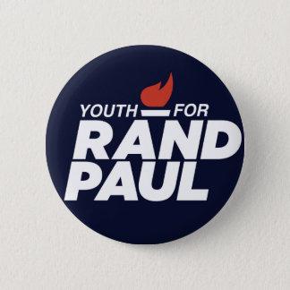 ランドのポールのキャンペーンボタンのための青年 5.7CM 丸型バッジ